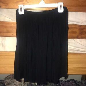 XS black Skater skirt